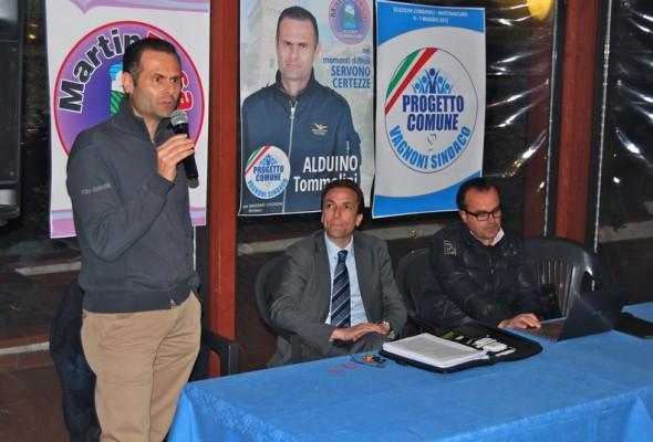 Il gruppo Martin Rosa presenta il programma
