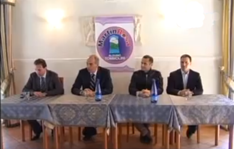 Il senatore Tancredi battezza la nascita del gruppo MartinRosa